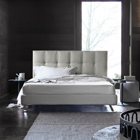 Grace Bed With Storage, Low Headboard