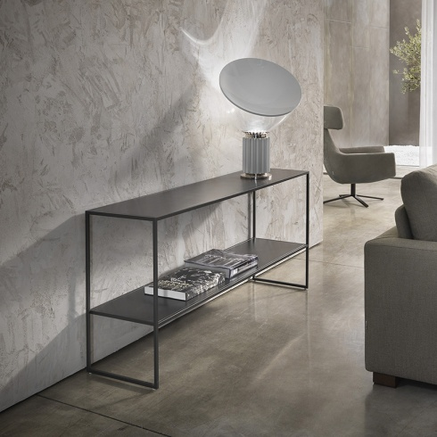 Porto Glass Console Table