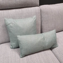 Clearance: Sage Green Fabric Cushions (Set of 2)