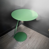 Ex-Display: Pluto Serving Table in Grass Green Matt Lacquer