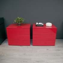 Ex-Display: Bond 3 Drawer Bedside Table (Set of Two)