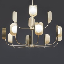 Ex-Display: Galaxy Brass Grand Chandelier