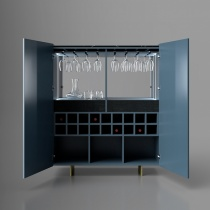 Heath Drinks Cabinet, Lacquer