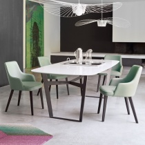 Ex-Display: Icon Dining Table L210cm or L260cm With Ceramic Top