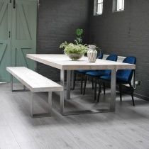 Ex-Display: 280cm Modena Dining Table & Bench Set