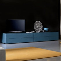 Space TV Unit, 2 Drop-Down Door, 2 Drawer (ST300A) 300cm